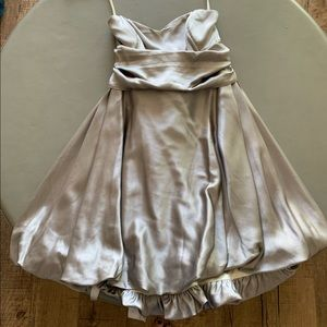 Mara Hoffman Silk Strapless Dress //size S